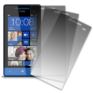 MPERO 3 Pack of Matte Anti-Glare Screen Protectors for HTC Windows Phone 8S