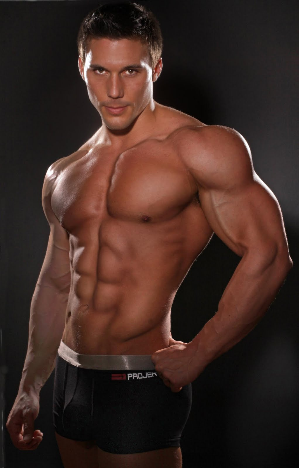 Body men fitness model