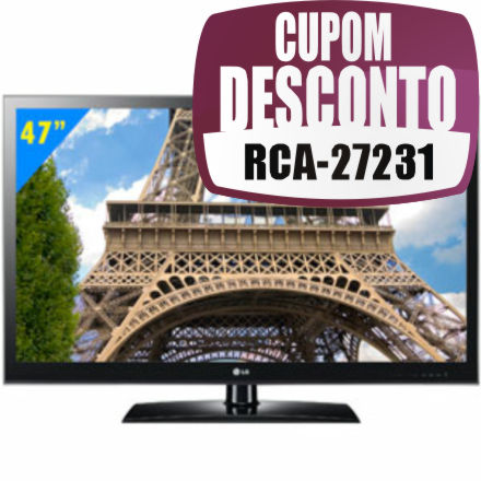 TV 47 LED Full HD 47LV3500 LG
