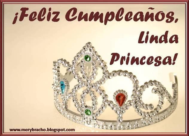 Deseo de Cumpleaños para felicitar a princesa. Mensaje cristiano de Cumpleaños a princesa, princesita, frases para felicitar 15 años, 16 años, cumpleaños de niña de princesa