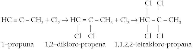 reaksi adisi halogen alkuna