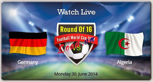 Germany , Algeria , Round 16