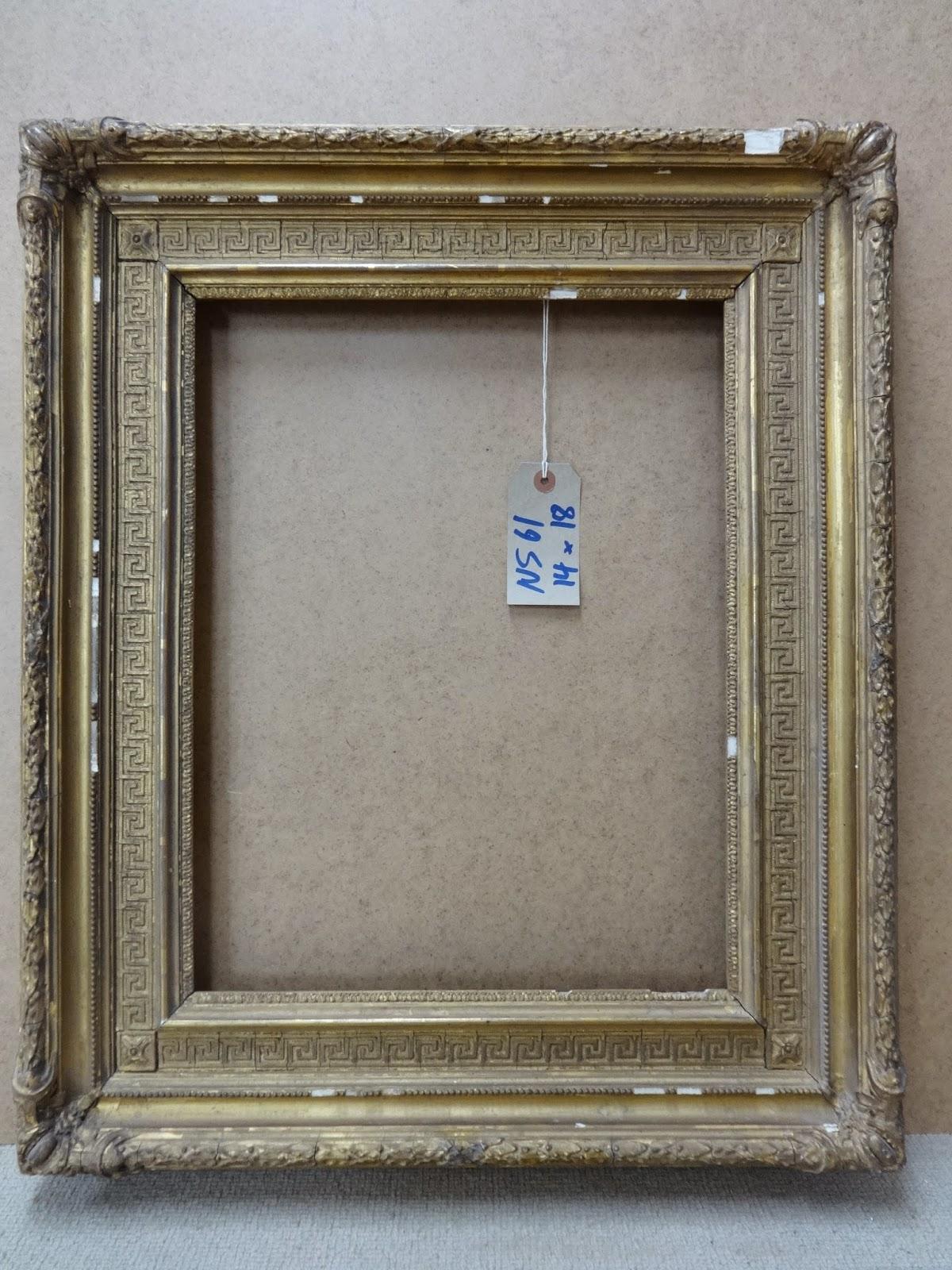 Antique frame sale a 19th century neoclassical frame with greek a 19th century neoclassical frame with greek key pattern jeuxipadfo Gallery