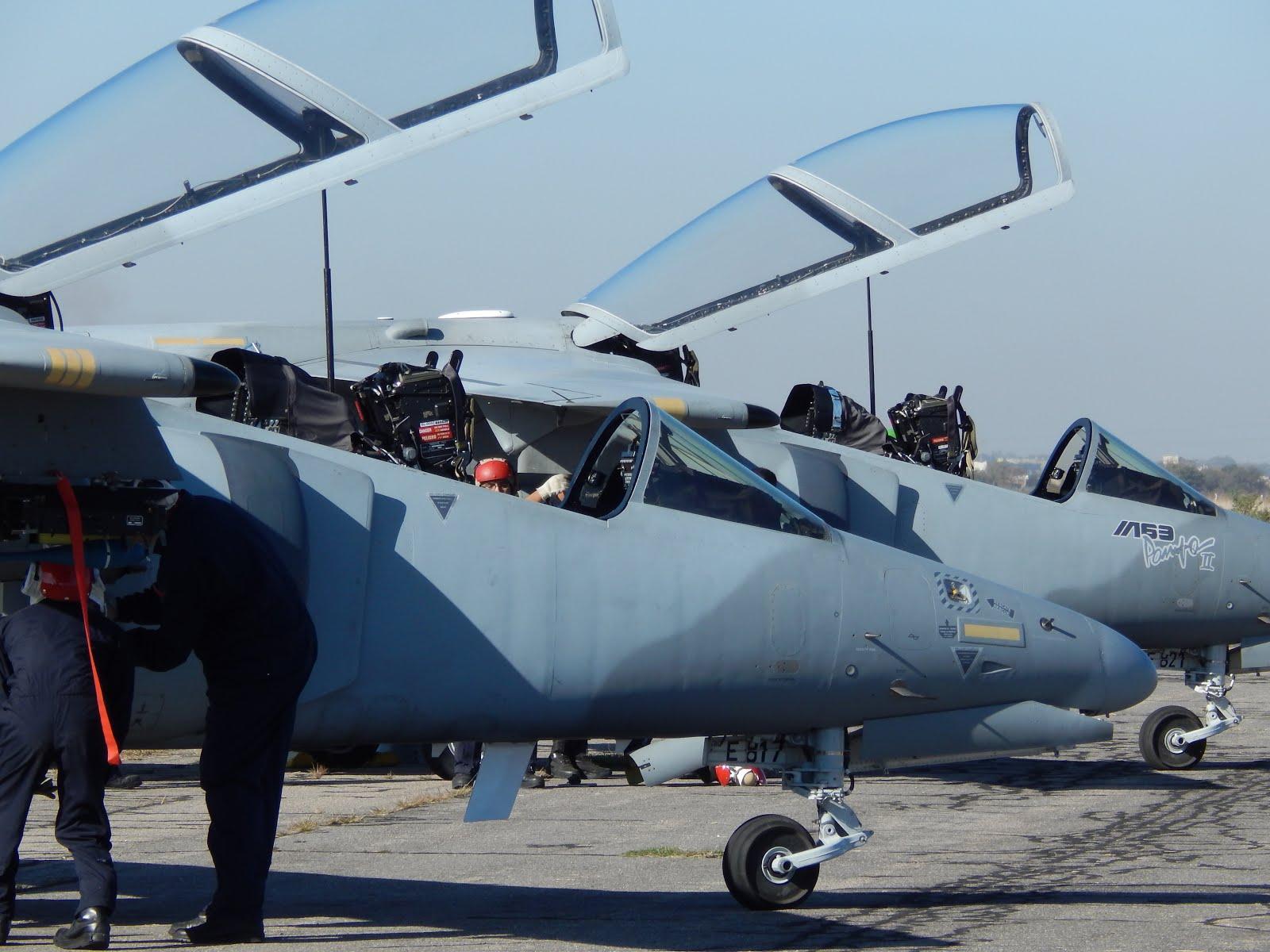 Campaña de Instrucción del Escuadrón IA-63 Pampa II