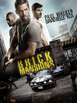 Brick Mansions 2014 poster