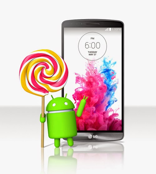 LG G3 Con Android Lollipop