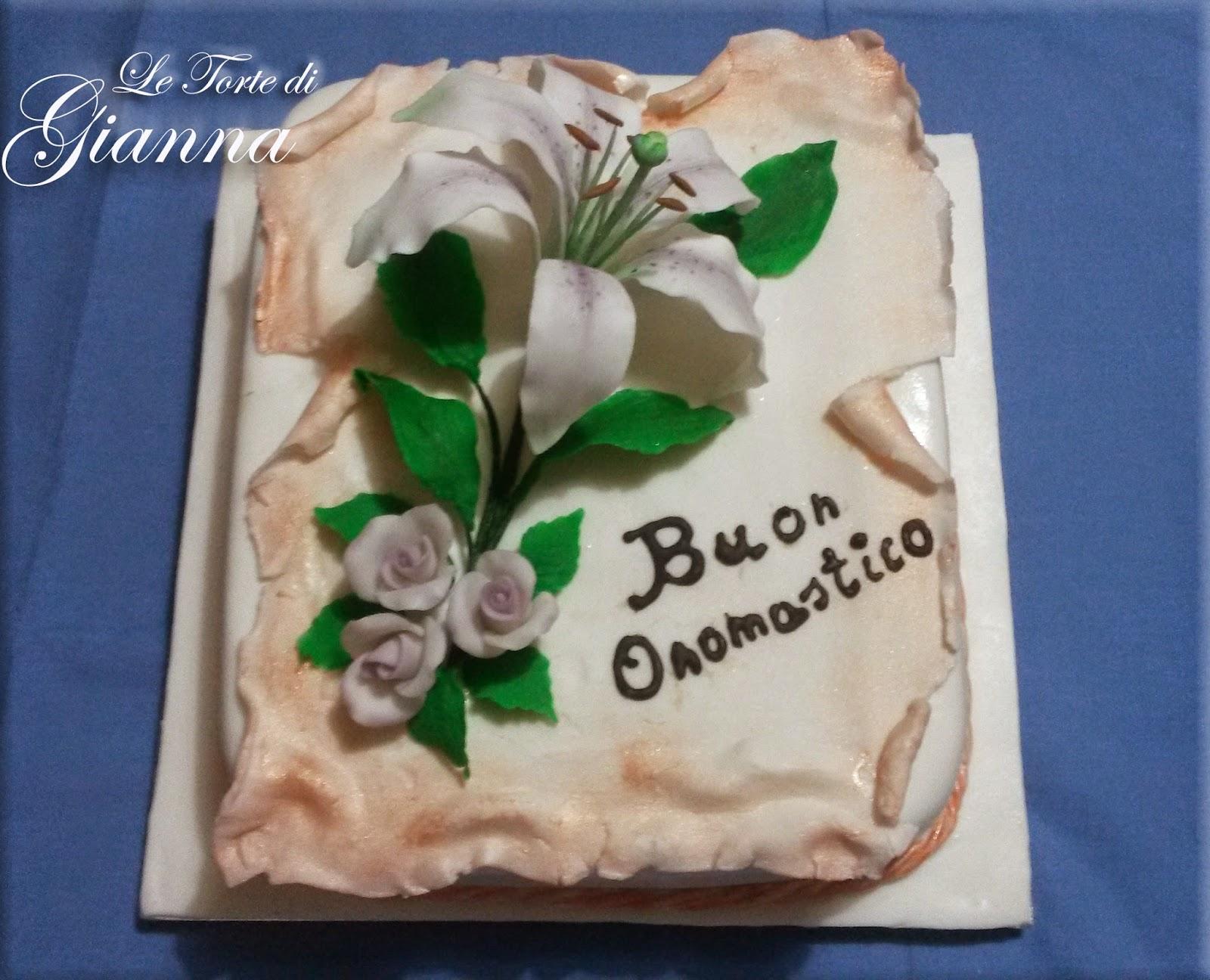 Dolce passione unire arte e gusto torta con lilium for Arte delle torte clementoni