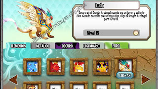Elemento Luz y Habitat Luz En Dragon City | Amigos Para Dragon City