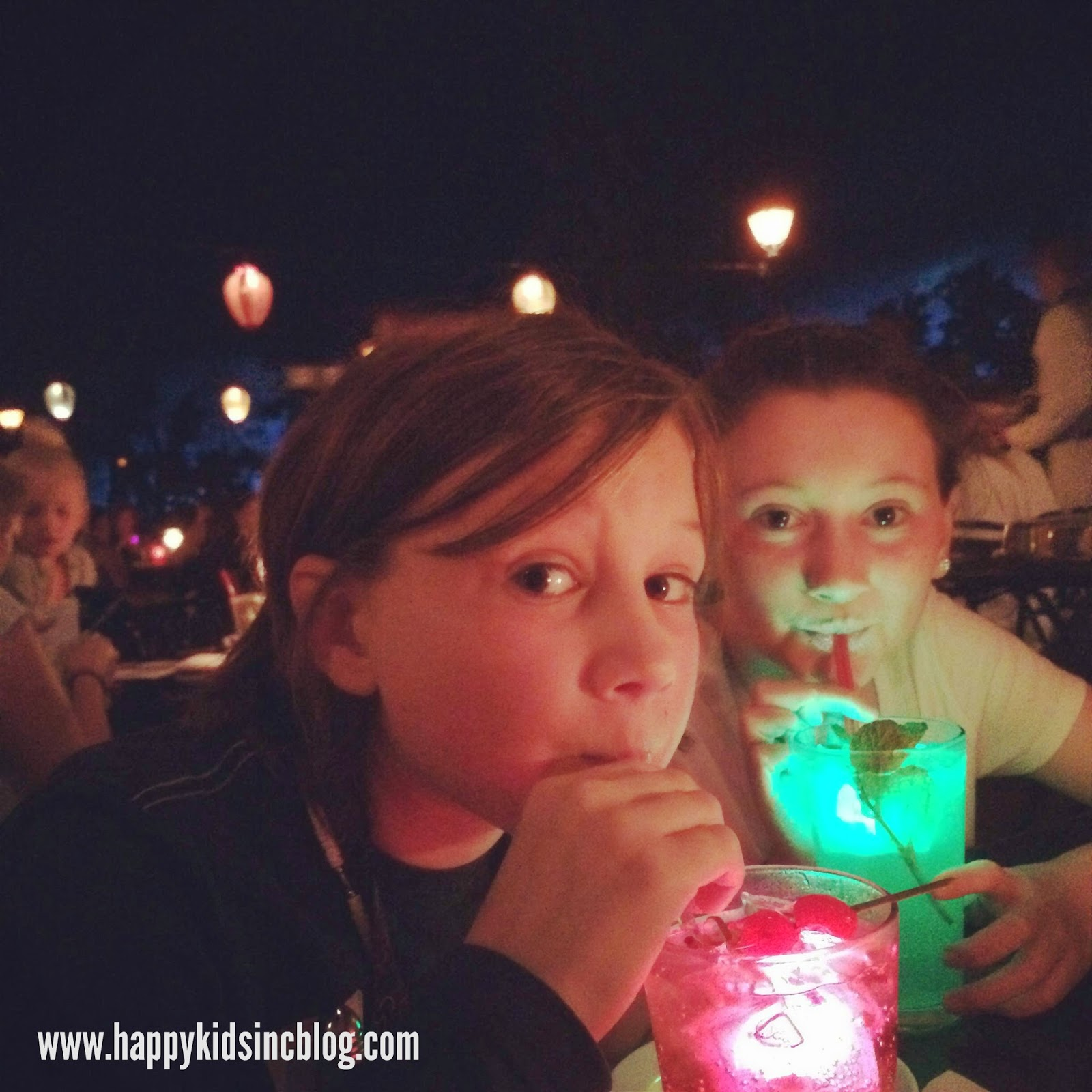 Blue Bayou Glowy Drinks at Disneyland