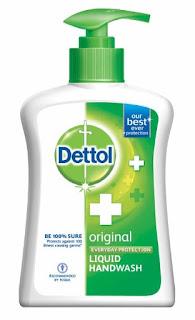 Dettol Liquid Soap Pump Original