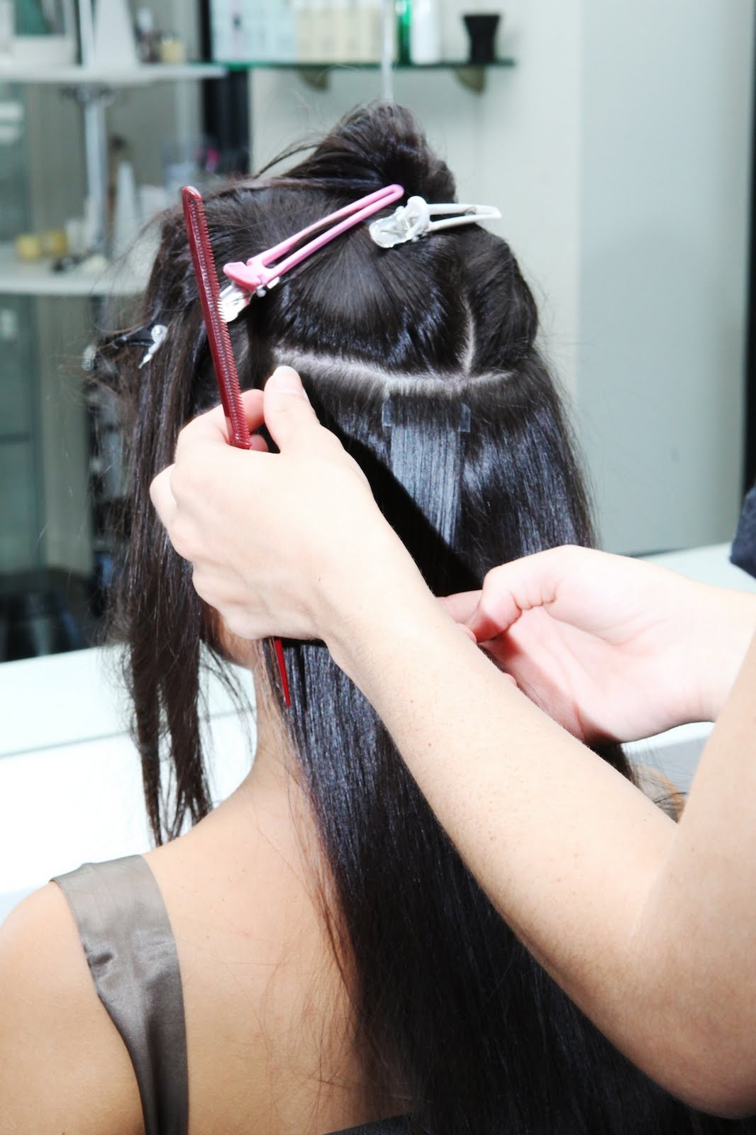 Tape Extensions Video 111