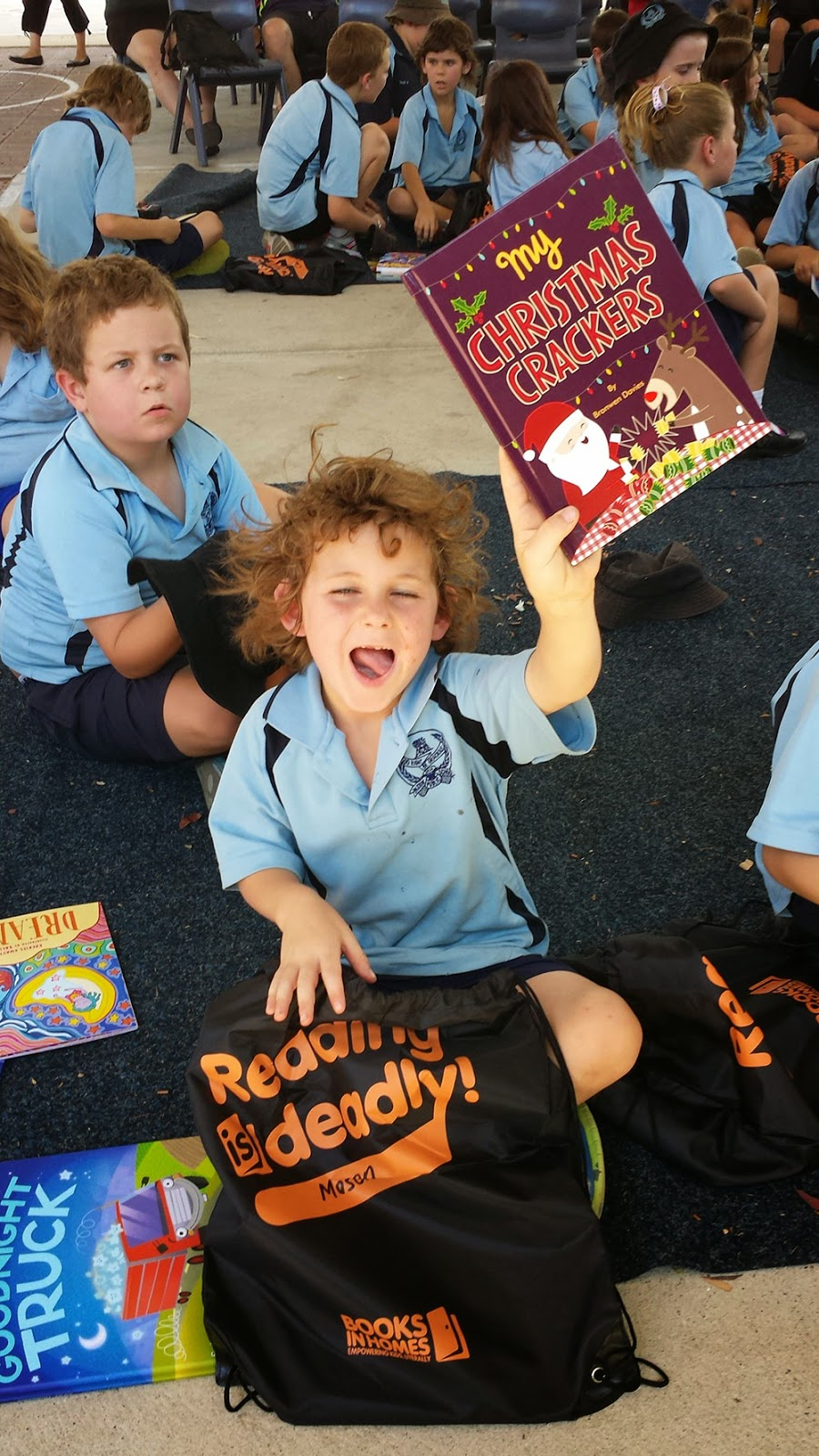 reading books at school is important