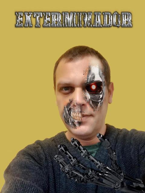 Photoshop Exterminador do futuro
