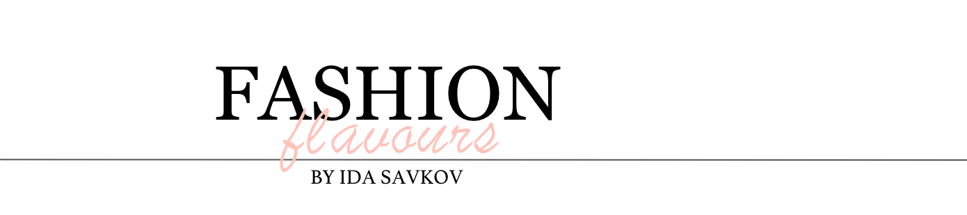 Fashion Flavours by Ida Savkov