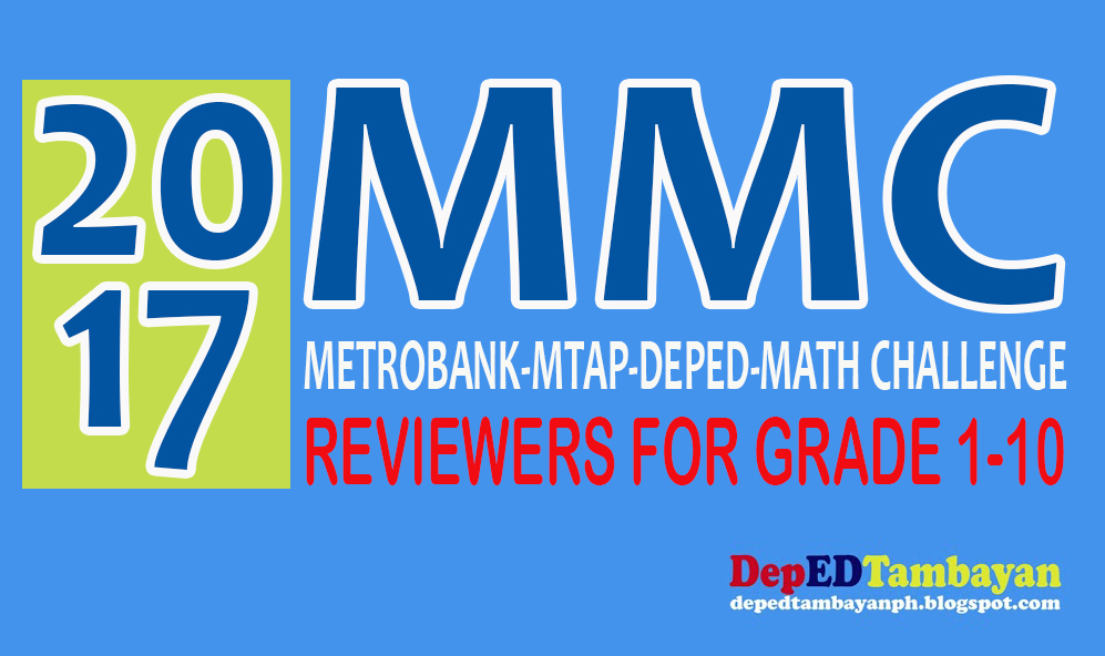 2017 MTAP REVIEWERS WITH ANSWER KEY