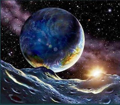 gambar_bumi_dan_matahari_dari_bulan