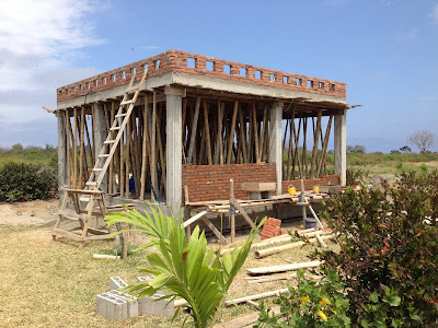 Building a rental home on the coast of Ecuador! Week 8