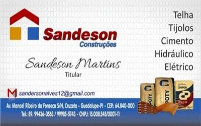 SANDESON CONSTRUÇÕES