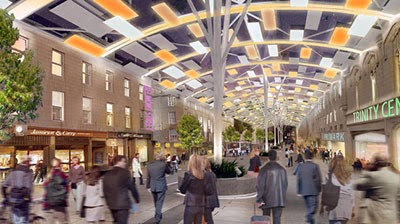 Halliday Fraser Muro's dramatic proposals  for Union Street, Aberdeen - fantastic!
