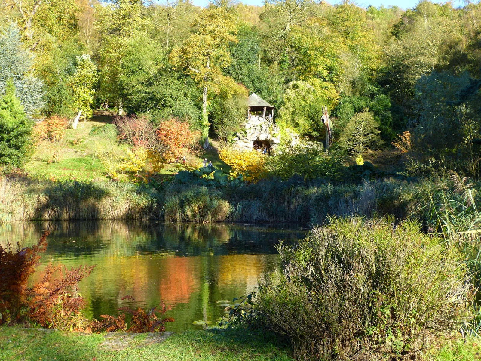 The Grotto Pond, Chatsworth