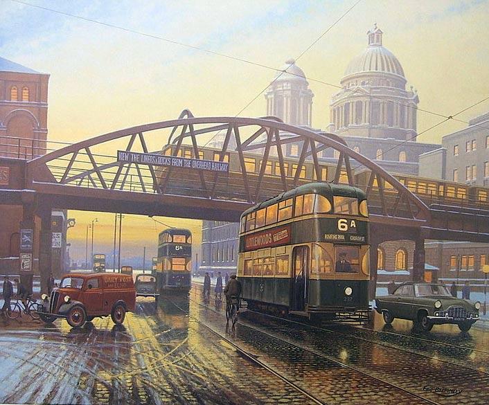 Hidden Architecture Liverpool Overhead Railway LOR