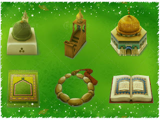 أضخم مكتبة ملحقات الفوتوشوب إسلامية من خلفيات وستايلات وفرش وأكشن,باترن وتكسترات