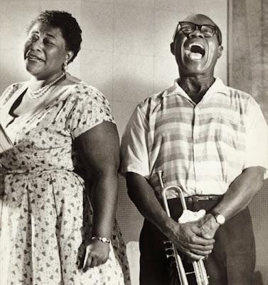 Foto promocional de Ella Fitzgerald & Louis Armstrong