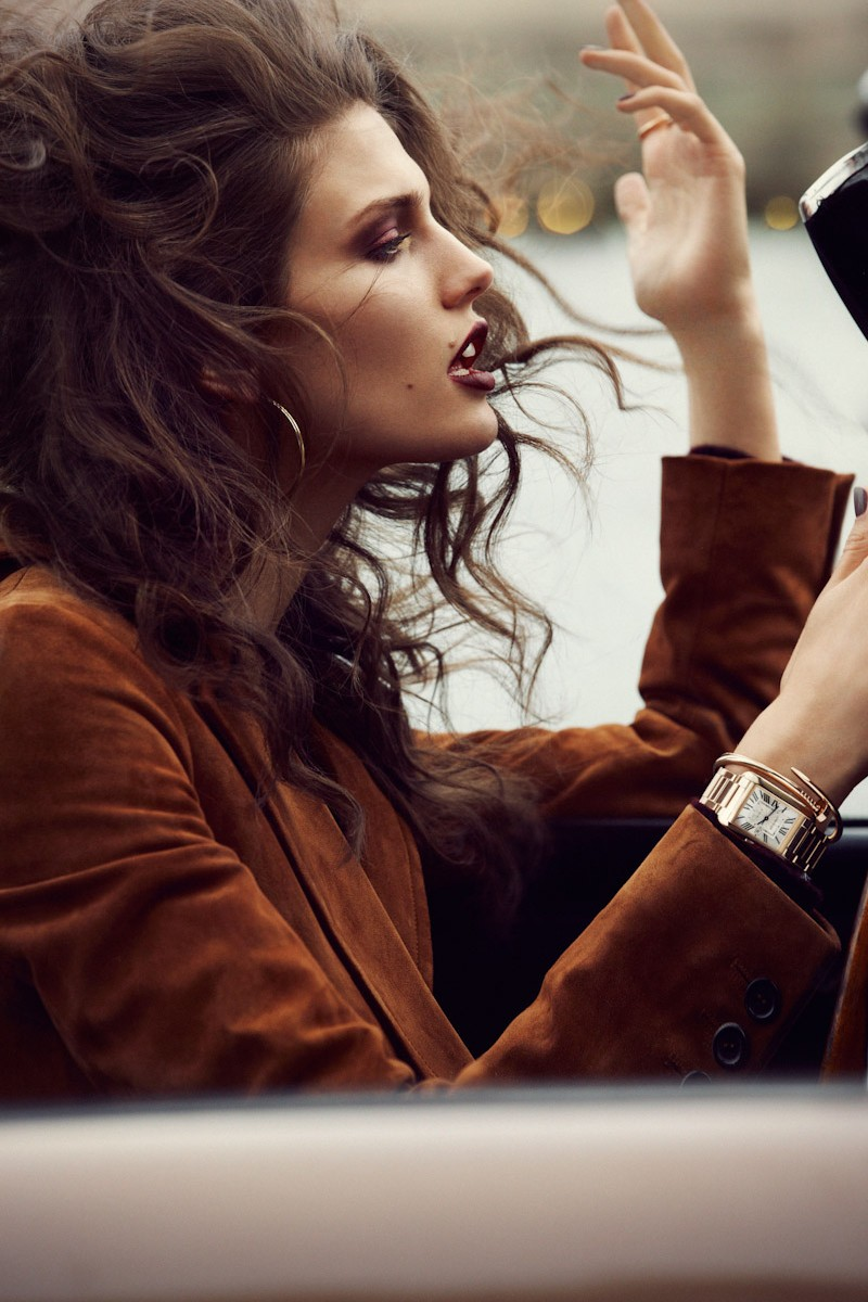 Kendra Spears in Vogue Paris November 2012 (photography: Lachlan Bailey, styling: Claire Dhelens)