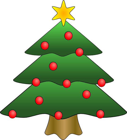 View Woods Christmas Tree Clip Art Rh Viewwoods Blogspot Com Clipart Black And White Images