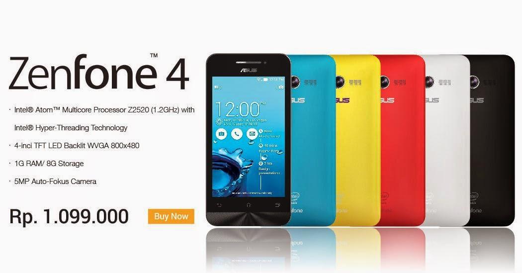 Harga Hp Asus Zenfone 4 Terbaru Tahun 2018