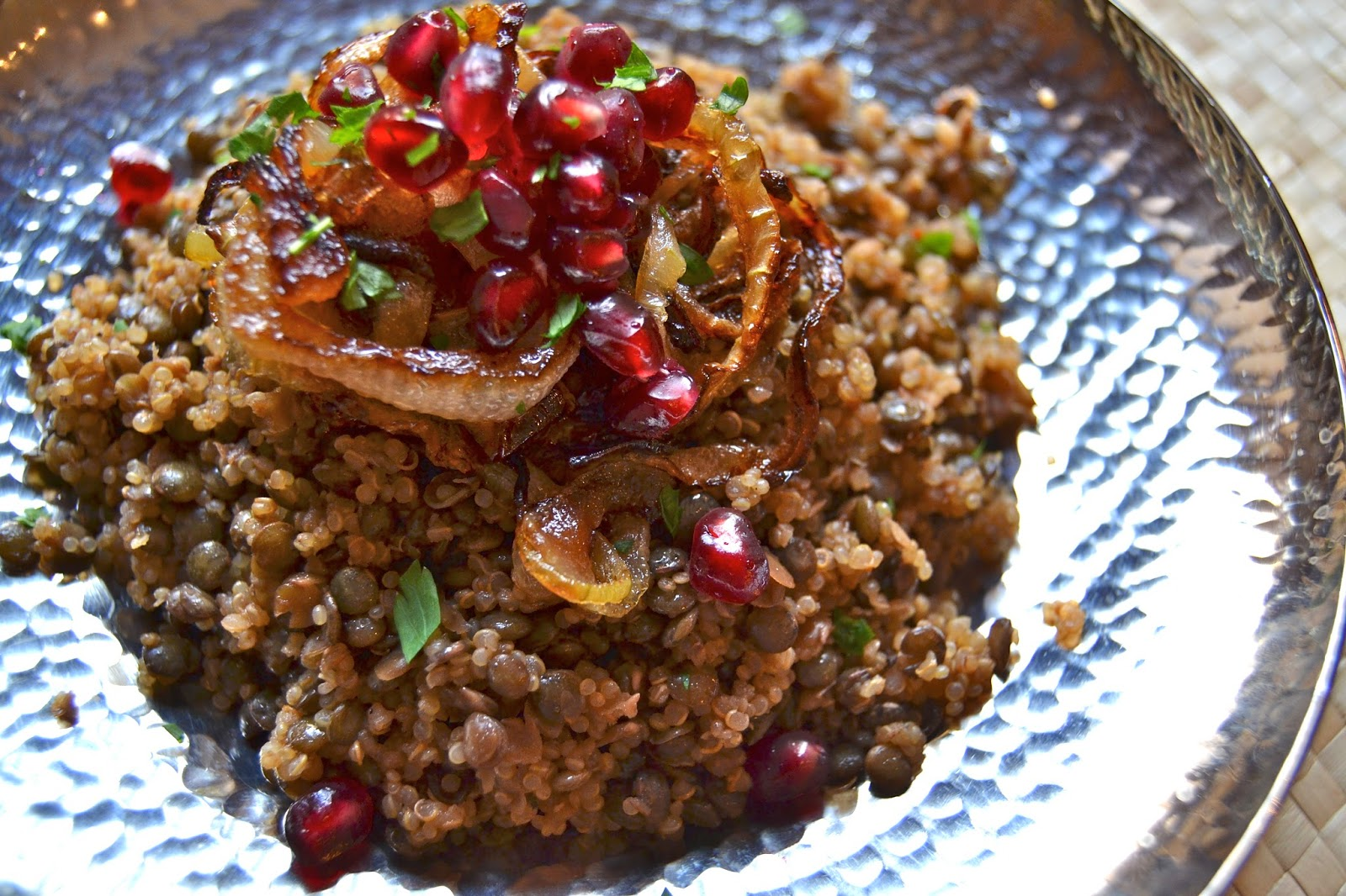 Quinoa Mujadara Recipe — Dishmaps