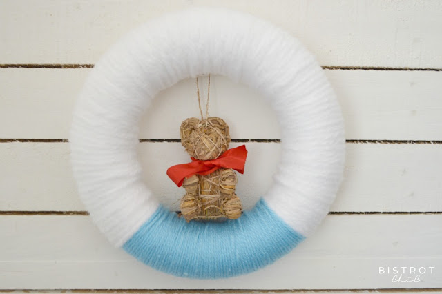 Christmas Wool Wreath by BistrotChic