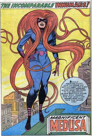 Fantastic Four Annual 5-Medusa-Inhumans