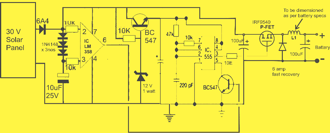 mppt solar battery charger circuit diagram images solar charge solar power system block diagram buck converter circuit dc