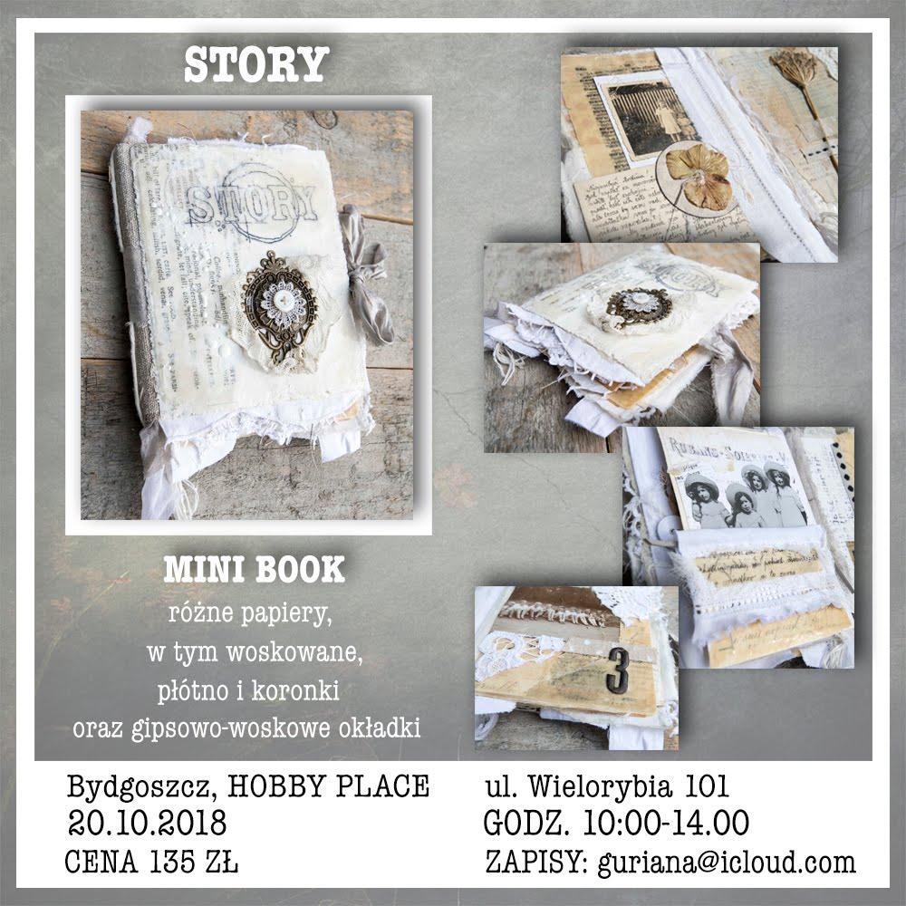 Bydgoszcz, Hobby Place, Mini book STORY