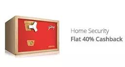 Godrej Home Security Extra 40% Cashback - Paytm