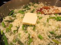 Asparagus Risotto Vegetarian