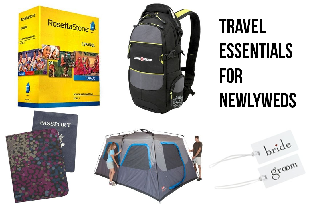 Unexpected Adventures: Learn, explore, and grow together - The fun in traveling as young newlyweds! Target Travel Essentials for Newlyweds