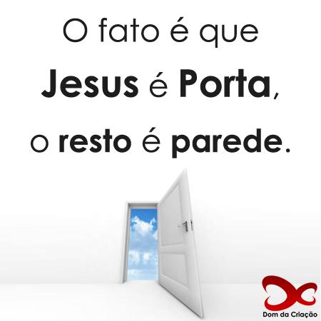 JESUS, a Porta