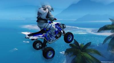 Flying in air