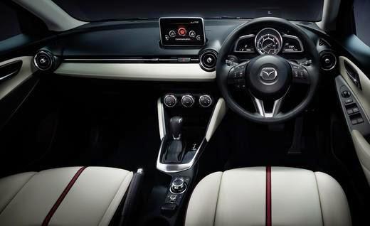 2016 Mazda2 interior