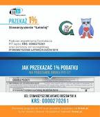 """Stowarzyszenie  """"Łatwiej""""- 1% podatku"""
