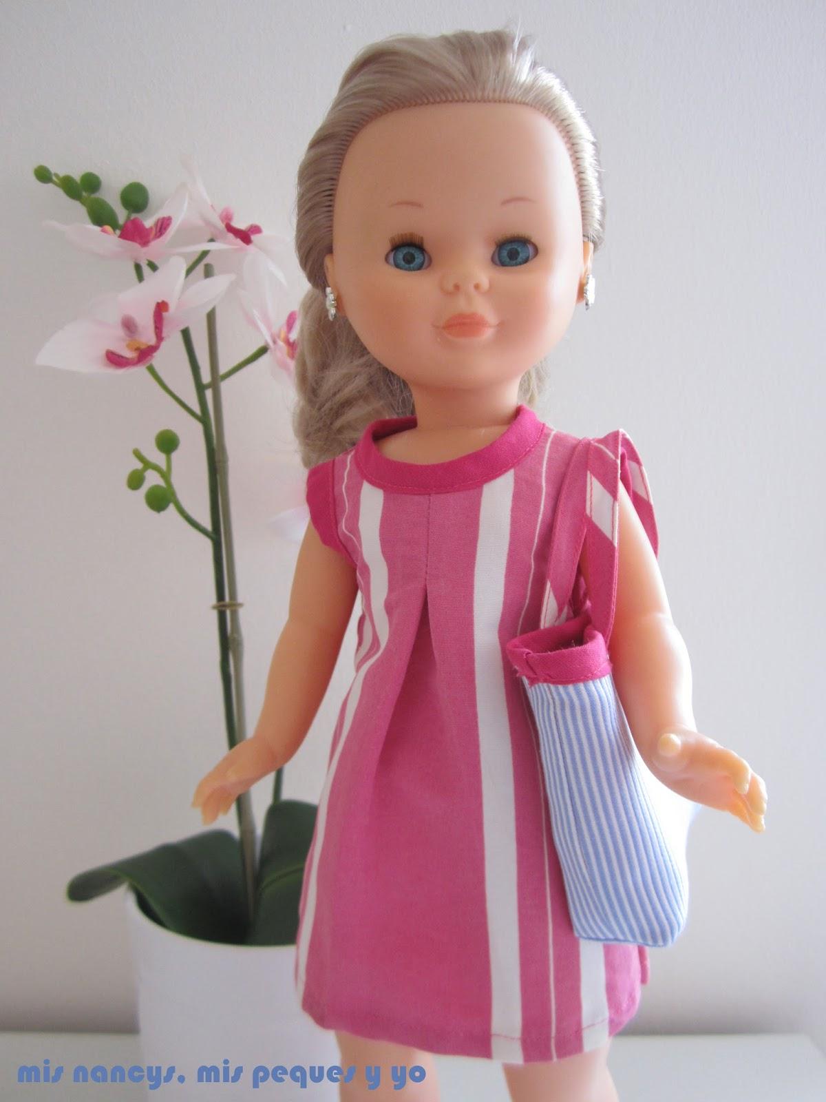 mis nancys, mis peques y yo, tutorial bolsa playera Nancy, detalle