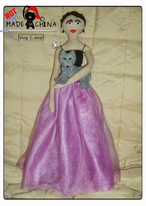 lalka handmade na prezent