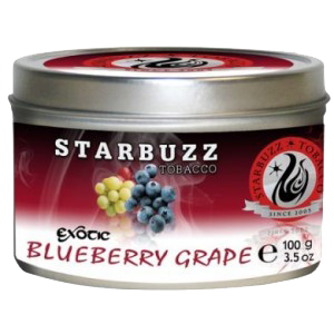 STARBUZZ EXOTIC BLUEBERRY GRAPE HOOKAH SHISHA TOBACCO