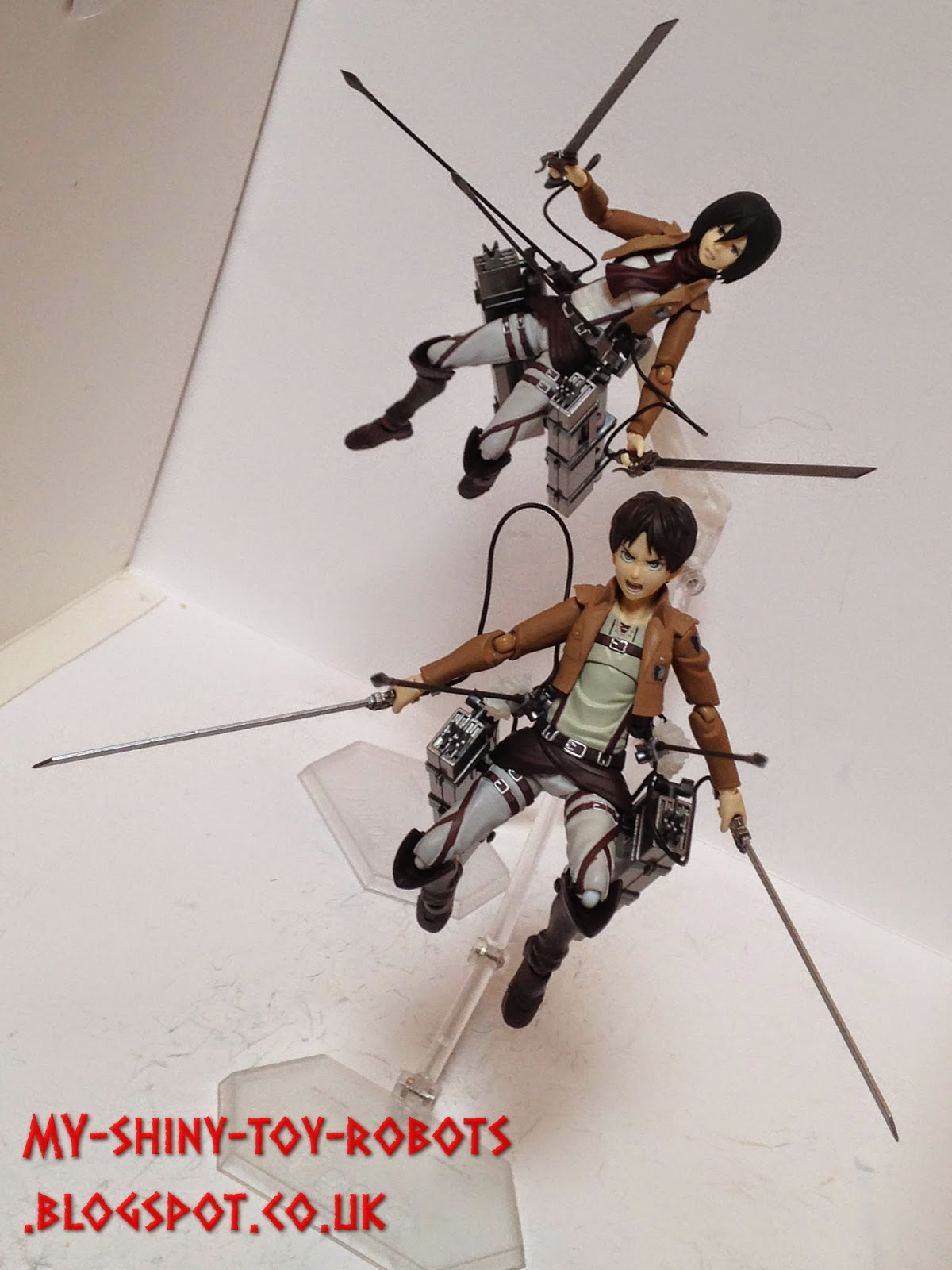 Hanging with Mikasa