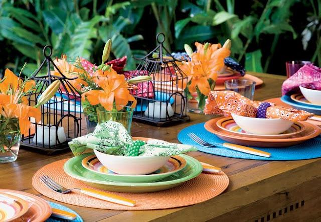 mesa decorada Dia das Mães