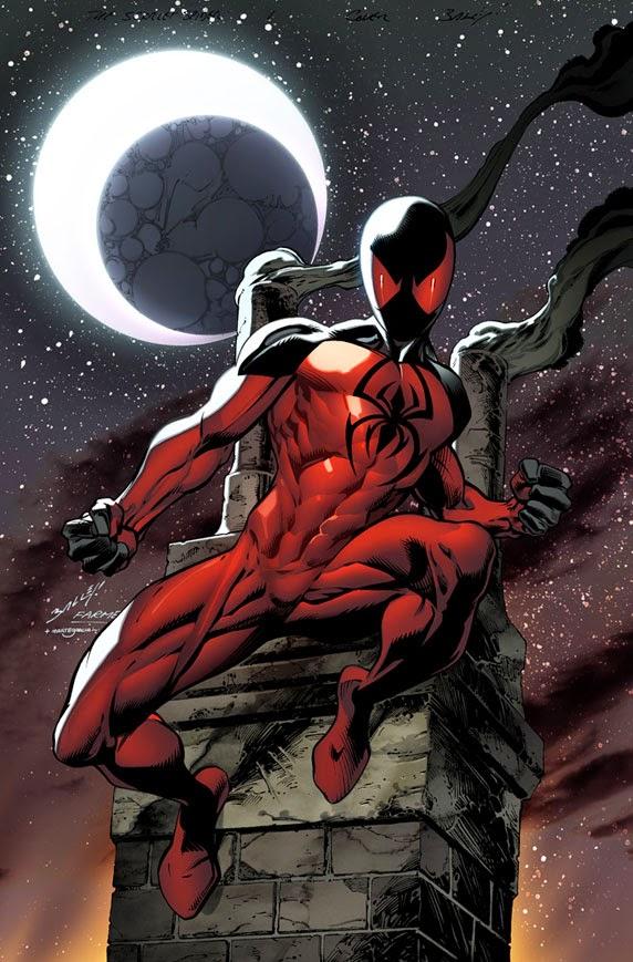 Araña Escarlata / Scarlet Spider, un clon de Peter Parker.