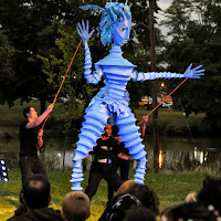 New England Fall Events_Night Fall Hartford_Giant Pullets_Illuminated Puppets