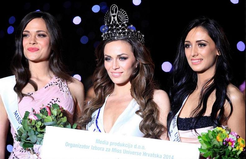 Miss Universe Hrvatske Croatia 2014 winner Ivana Misura